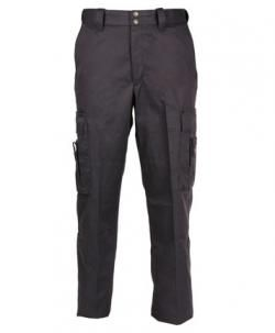 The CriticalEdge Womens EMT Pant is made of a durable 8.5 ounce 65% polyester / 35% cotton twill fabric treated with DuPont Teflon fabric protector for liquid and stain resistance.