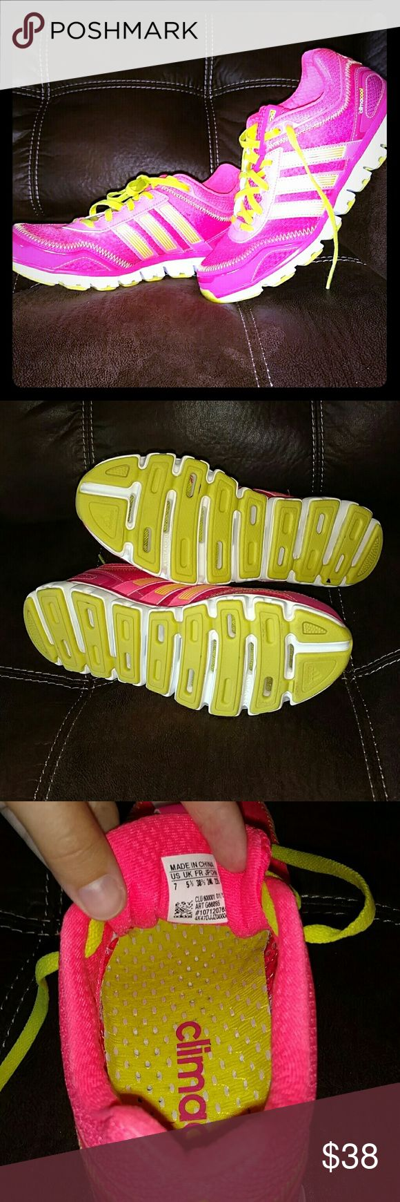 Adidas Climacool Shoes Brand new, worn once, too big for me. Great condition! Adidas Shoes Athletic Shoes