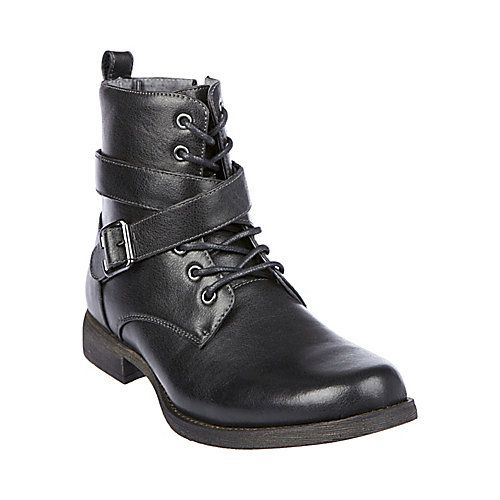 M-ASPENN BLACK men's boot casual zipper - Steve Madden