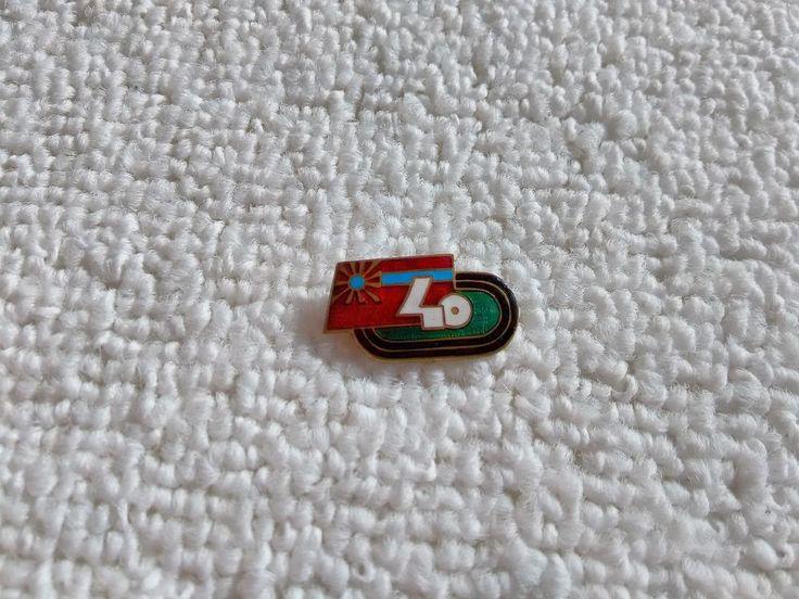 Vintage Georgia/Georgian 40 Years of Sports Soviet Union pin badge