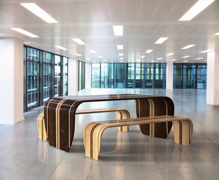 Surf Inspired Table And Bench By Duffy London Is Made Using Traditional  Surfboard Manufacturing Techniques. Surfboard TableDuffyWooden TablesDining  ...