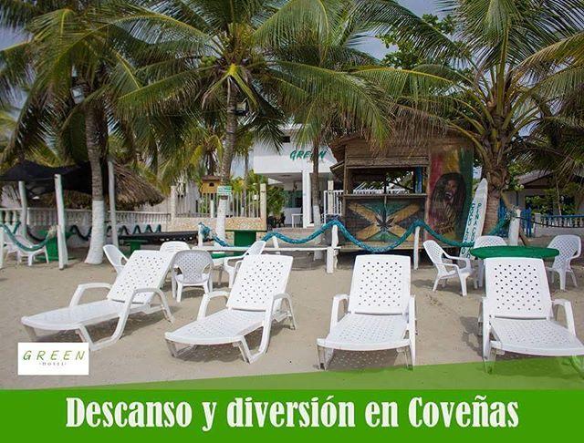 Descanso y diversión en Coveñas. #travel #vacation #holidays #freetime #vacaciones #viajar #CaribeColombiano #Colombia #playa #beach #mar #sea #hotelplaya #BeachHotel #Caribe #Coveñashotelplaya,viajar,mar,coveñas,beachhotel,playa,freetime,holidays,caribe,vacaciones,vacation,travel,caribecolombiano,colombia,beach,sea