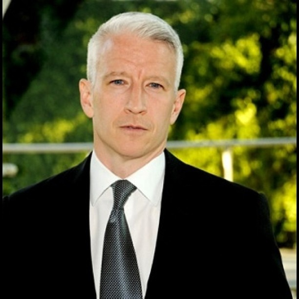 Anderson Cooper: Anderson Cooper, Hot Damn, Dreams Dinners, Dinners Party'S, Admiration Celebrity Crushes, Cooper Mah, Aunt Jemima, Kim O' Brien, Guest Lists