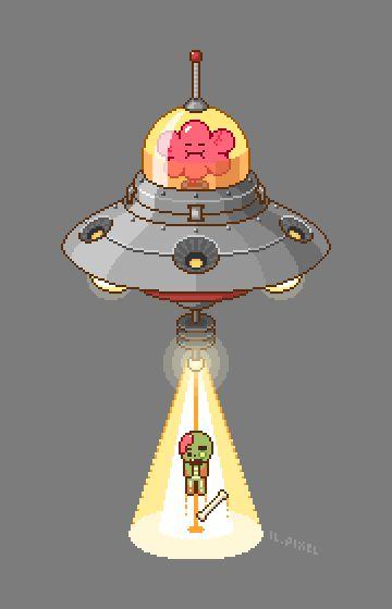 찍어놓고 마땅히 쓸데는 없었던 브레인껌과 좀비. #쿠키런 #좀비맛 #브레인껌 #픽셀아트 #도트 #Cookierun #Zombiecookie #Braingum #pixelart #pixel #UFO
