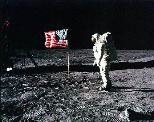 Iconic Photograph - Moon Landing