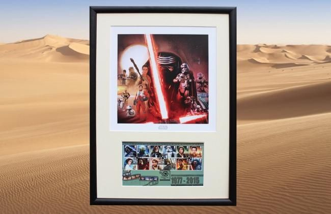 FD16 SW Framed Poster & First Day Cover