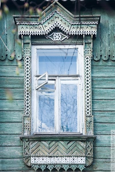 Windows of Sarasota's Sister City of Vladimir, Russia