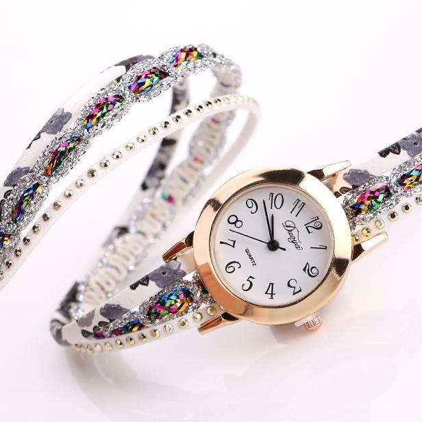 DUOYA D048 Retro Style Bracelet Watch