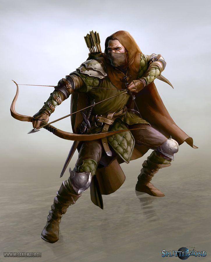 Character Design Artist Job Description : Best images about character rogue ranger archer bowmen