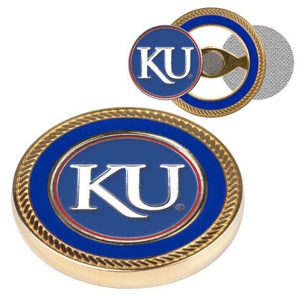 Kansas Jayhawk - Challenge Coin / 2 Ball Markers