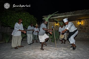 The night life at #VillaSantorini is as vibrant as the day. Spend the evening dancing, the traditional way. #Mozambique #dancing