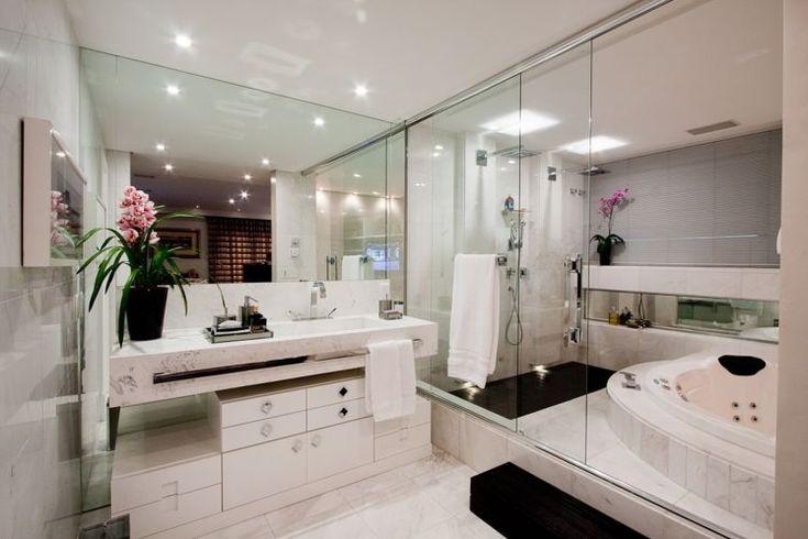 Banheiros com Banheiras! 30 Modelos maravilhosos!