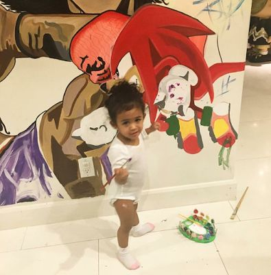 Chris Brown's daughter is too cute! - http://www.thelivefeeds.com/chris-browns-daughter-is-too-cute/