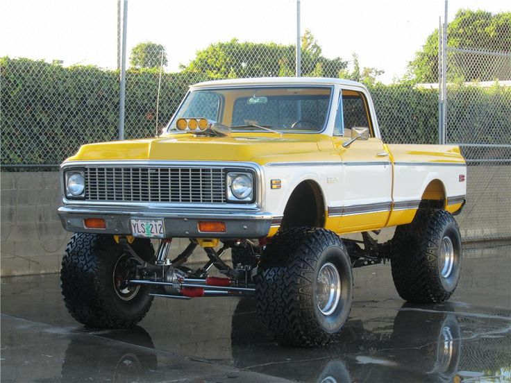 1972 CHEVROLET CHEYENNE CUSTOM PICKUP: