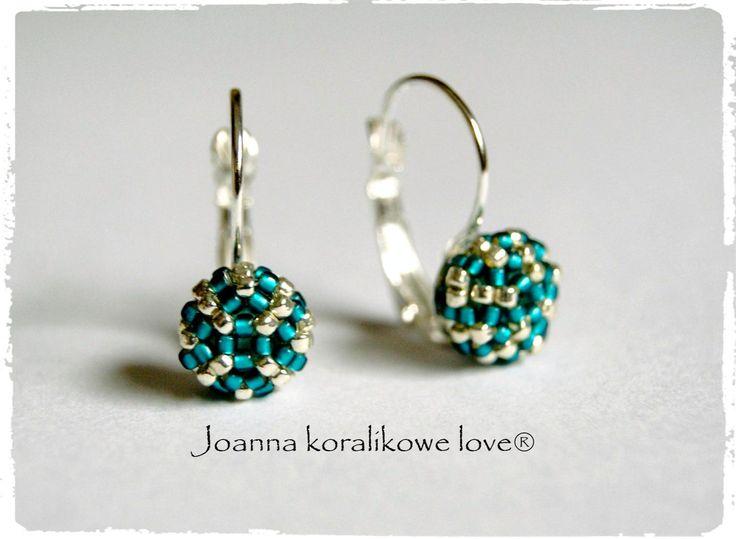 Earrings Kolczyki beading