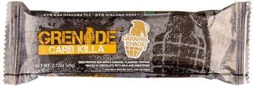 Grenade carb killa- Milk chocolate makes bar a delicious