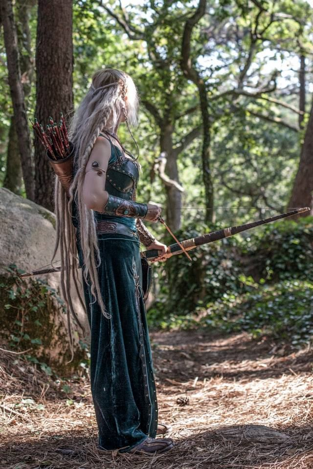 She shouldn't of decided to go into the forest alone..the hairs on her back stood up as the feeling of being watched sunk into her gut.., character inspiration