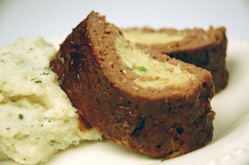 Stroganoff Stuffed Meatloaf