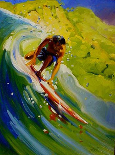 Ready by Ron Croci #surfart #roncroci