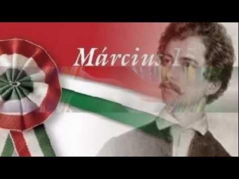 Nemzeti dal. A forradalmár Petőfi tollából. Hallgassátok meg!