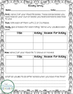 Back to School Reading Survey   One of the first things I do with my new students each year is to assess their interests as readers. I want to make sure my first Scholastic order reflects my new readers' needs and interests. This FREE reading survey is a key piece to making sure I get to know my students as readers!  Click on either of the images above to download it directly from TpT! Or pin the image below to save it for later!  3-5 3-5 Reading back to school reader's workshop reading…