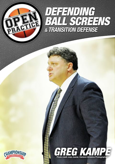 Greg Kampe - Open Practice: Defending Ball Screens and Transition Defense - Coach's Clipboard #Basketball DVD Store