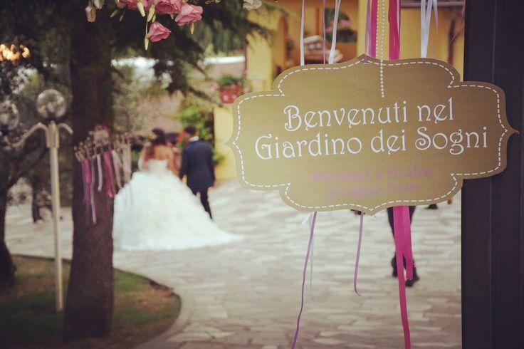 Affidatevi a noi.. abbiamo le chiavi del vostro Giardino dei Sogni 🏡🌺♥ #love #wedding #giardinodeisogni