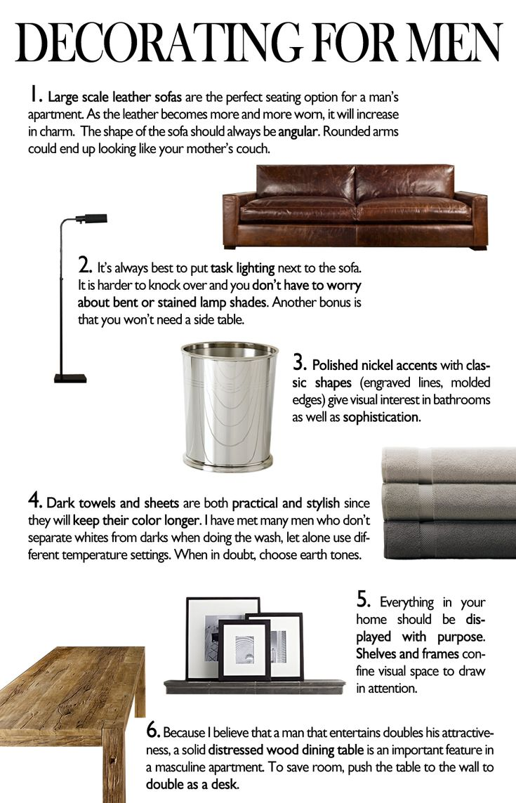 decorsting for men