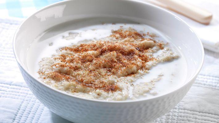 Havregrøt - Lav fodmap: bruk laktosefri melk