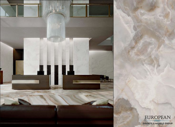 Florim - our new line of luxury porcelain tiles - has high aesthetic yield, and is able to be used on both floors and walls.  Seen in this stunning lobby is the Alabastro Bamboo Polished design for the floor, and Alabastro Madreperla for the walls.  Find out more information here: http://www.egmcorp.com/florim/alabastro-bamboo-polished http://www.egmcorp.com/florim/alabastro-madreperla-polished