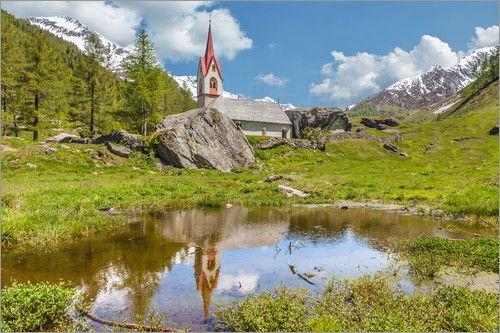 Christian Müringer - Heilig Geist Kirche in Kasern, Hinteres Ahrntal (Südtirol, Italien)