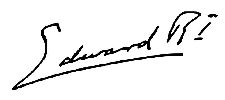 "The signature of King Edward VIII ""David"" (Edward Albert Christian George Andrew Patrick David) (1894-1972) UK on the declaration of his abdication of the UK Throne in 1936. With a reign of 326 days, Edward was one of the shortest-reigning monarchs in British and Commonwealth history. He was never crowned."