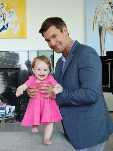 Jeff Lewis and Baby Monroe Christine May 2017