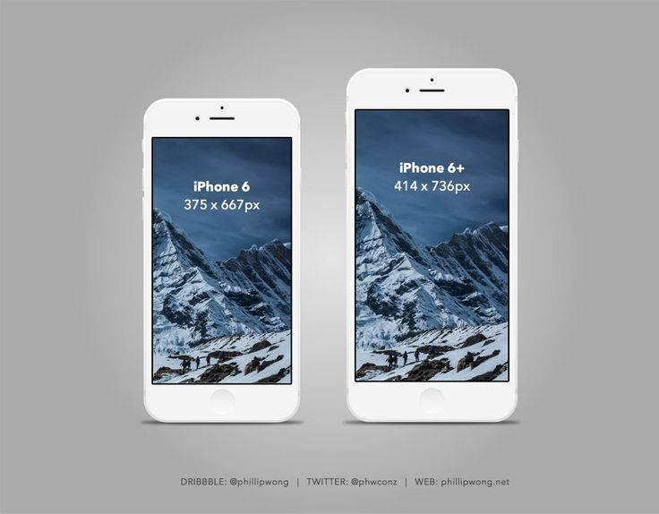 Slate style iPhone Free Mockup