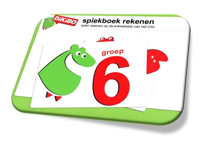 Download gratis spiekboekje rekenen groep 6