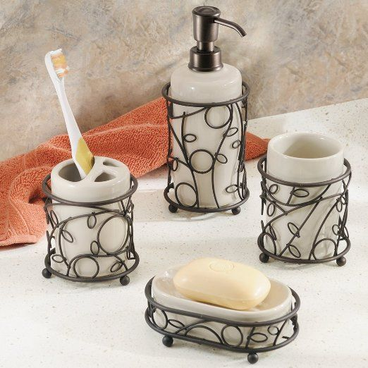 48 best images about bathroom accessory sets on pinterest toothbrush holders bathroom - Bathroom soap dish sets ...