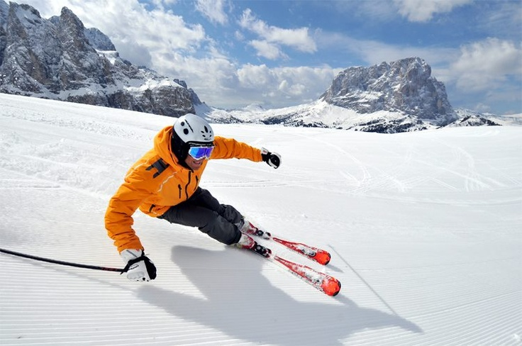 In the heart of the #Dolomites is Val #Gardena and Santa Cristina.  #italy