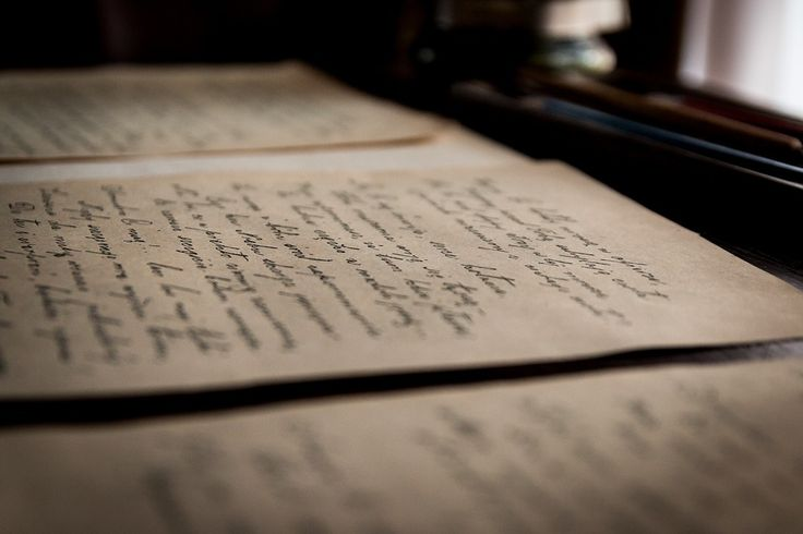 Cartas Viejas, Viejo, Carta, Letra, Biblioteca