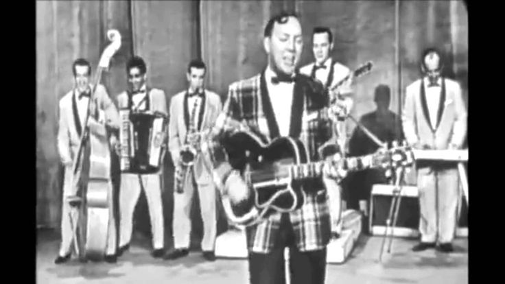 Late July 1955 we were hearing a ton of the HOT new song by Bill Haley & His Comets - 'Rock Around The Clock'  -- for you younger boomers, hard to begin to explain how big a deal this song was when it hit.