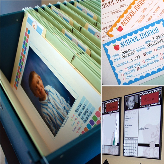 Organize Your Life: 10 Tips For Making School Mornings Run Smoothly: Organizations Ideas, Schools Mornings, Mornings Routines, Schools Paperwork, Art Storage, File Folder, Organizational Ideas, Organizations Schools, Storage Ideas