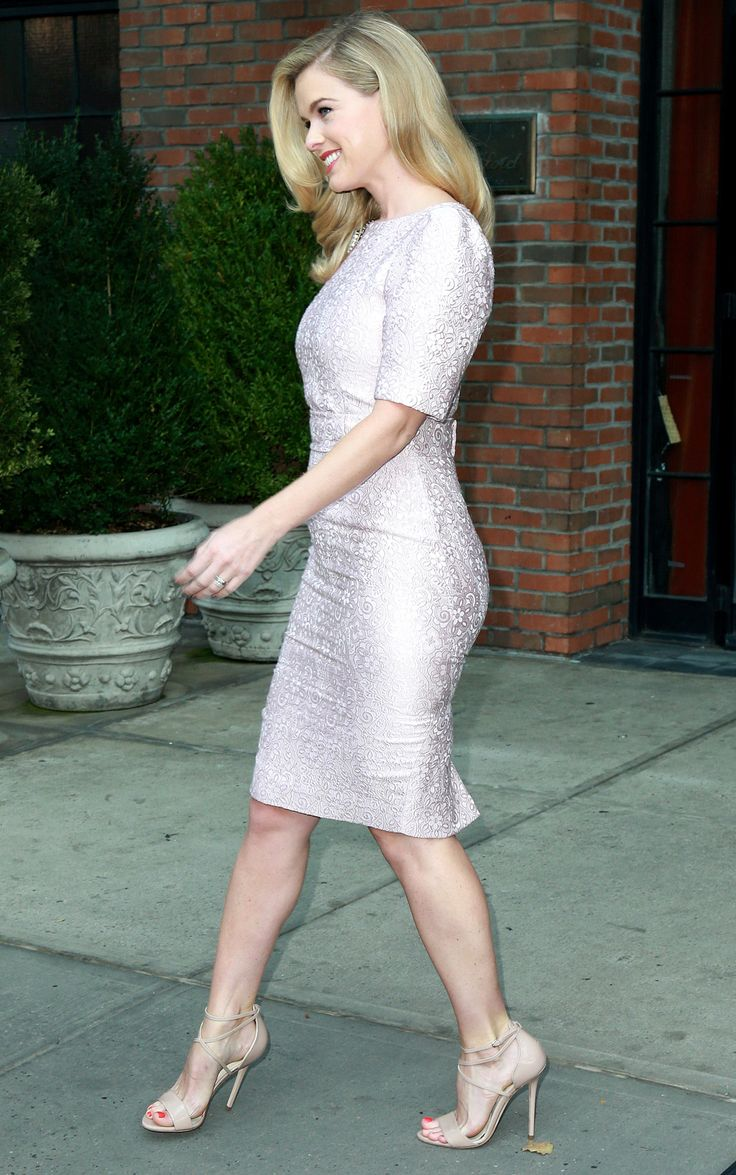 Alice Eve out and about, New York City (25 August, 2015)