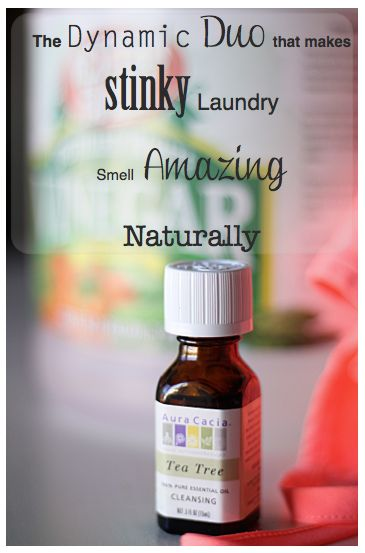 DIY How to Make Dirty Stinky Laundry Smell Amazing Naturally