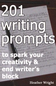 201 Writing Prompts is for the days when you need to break through writer's block or just want to play with words. Use these starters for those times when you need to clear your brain of the messiness of your day and warm up before tackling the project that means so much to you. They can serve as prompts for your daily writing journal, too. Trust me, if you break them down into their individual components, you'll have enough to last a year!