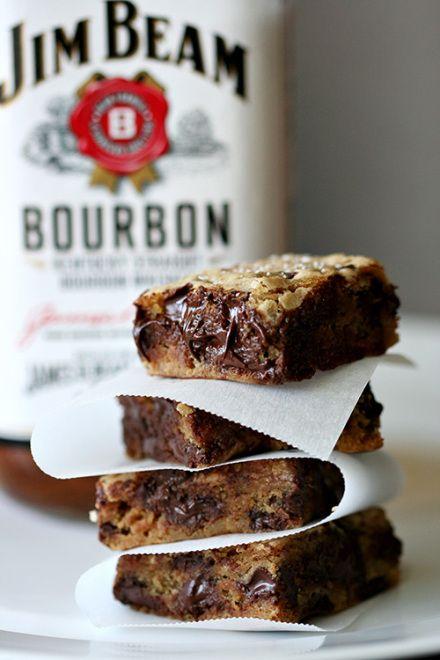 Salty Bourbon Squares     Amandeleine