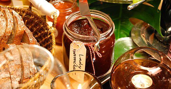 Choklad och hallonmarmelad lady marmalade