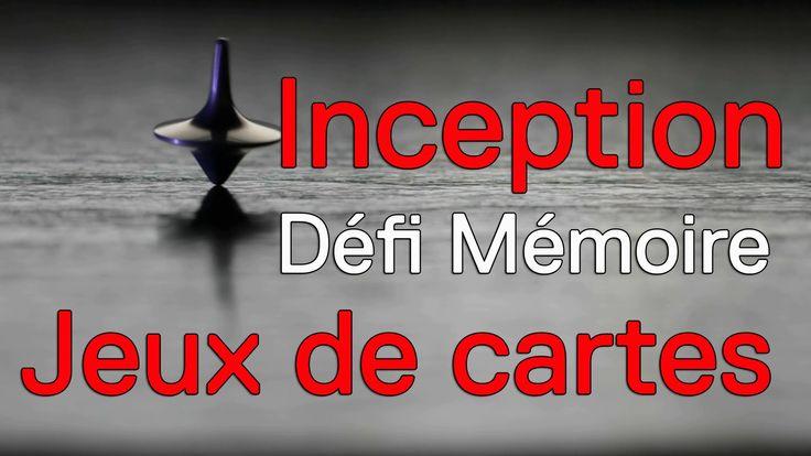 Inception : mémoriser 2 jeux de cartes
