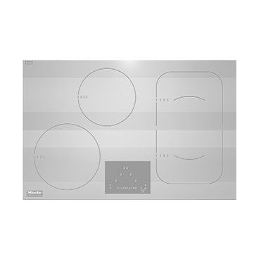 The Brilliant white hob surface means your cooking area blends seamlessly into your worktop for the ultimate minimalist kitchen.