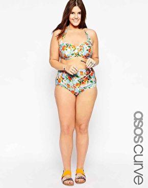 Plus Size ASOS CURVE Bikini