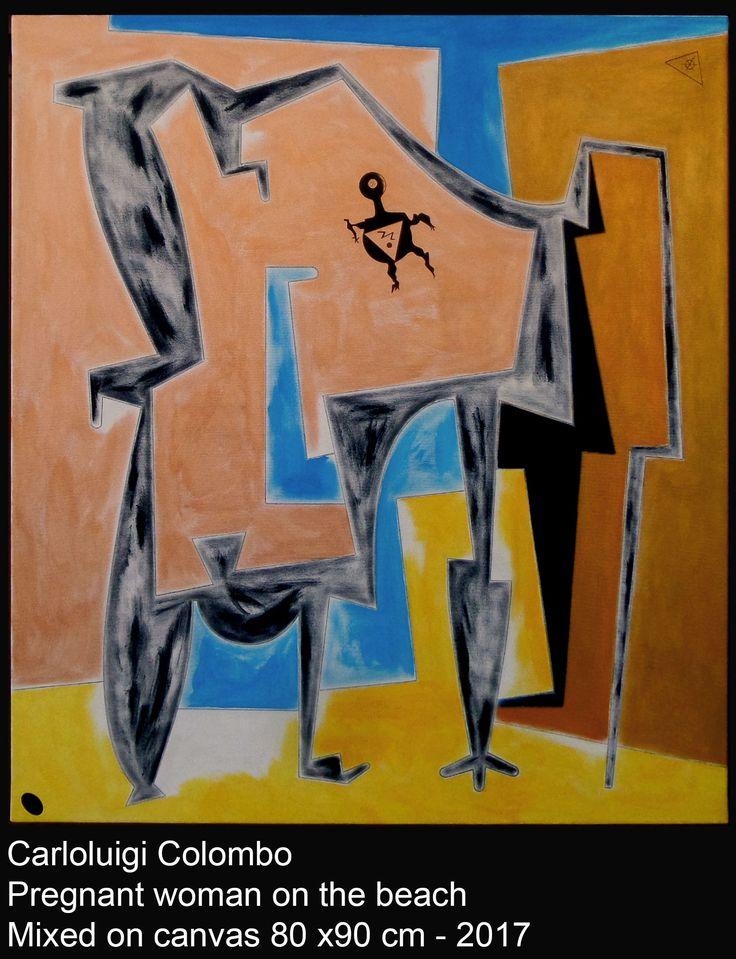 Painting,art, Colombo, Riolo Terme, arte, italian, pregnant