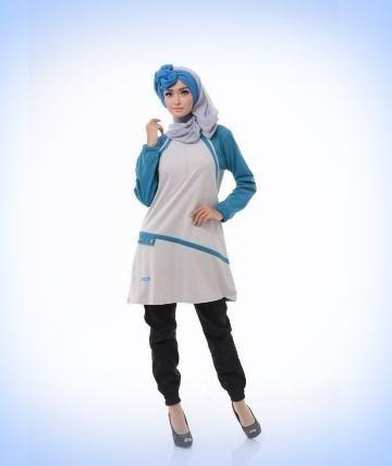 Beli Baju Atasan Wanita Tunik ALNITA AA-11 ABU MUDA dari Aprilia Wati agenbajumuslim - Sidoarjo hanya di Bukalapak